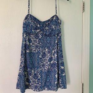 Garnet Hill Halter Swim Dress
